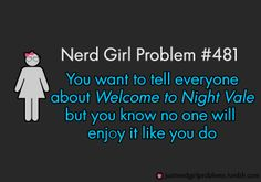 Nerd girl nightvale